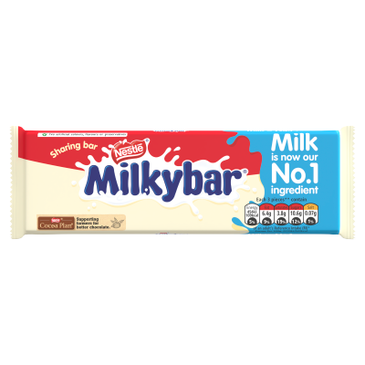 Milkybar White Chocolate Sharing Bar 100g