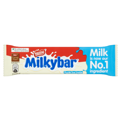 Milkybar White Chocolate Medium Bar 25g