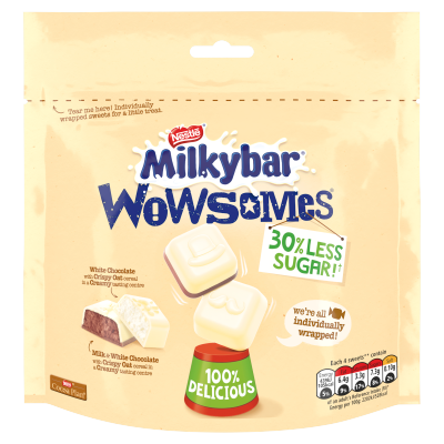 Milkybar Wowsomes Stock-Up Bag 105g