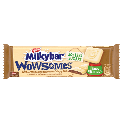 Milkybar Wowsomes Milk & White Chocolate Bar 18g