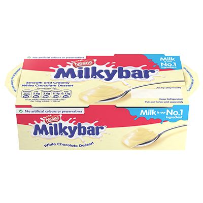 Milkybar® Dessert White Chocolate 2 x 70g