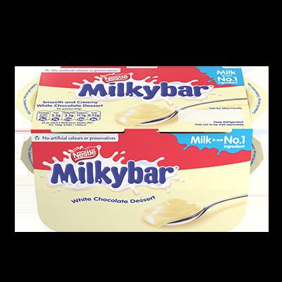 Milkybar® Dessert White Chocolate 4 x 65g