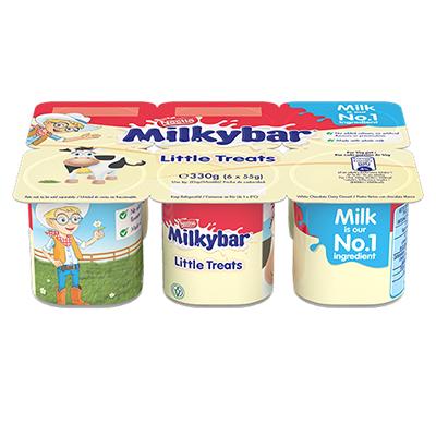 Milkybar® Little Treats 6 x 55g