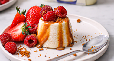 Frozen Milkybar® Mousse with Strawberries & Raspberries