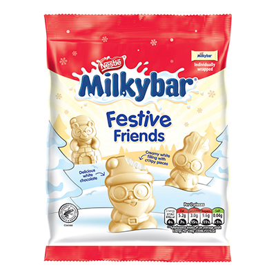 Milkybar® Festive Friends Sharing Bag 57g