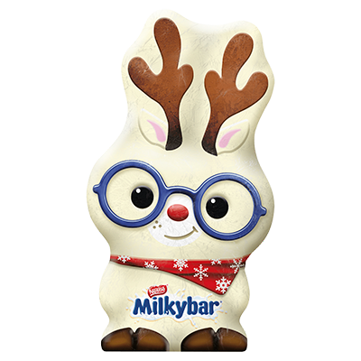 Milkybar® White Chocolate Christmas Reindeer 88g